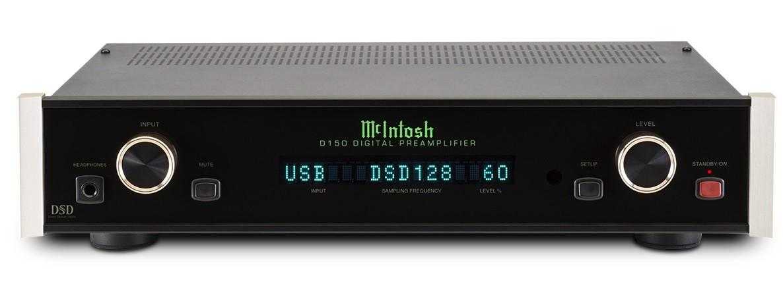 Convertisseur numérique analogique / préamplificateur Mc Intosh - D150