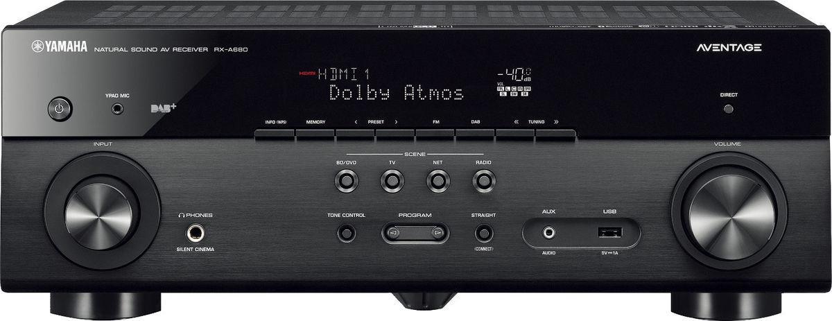 Yamaha - AVENTAGE RX-A680 Amplificateur Audio Vidéo 7.2