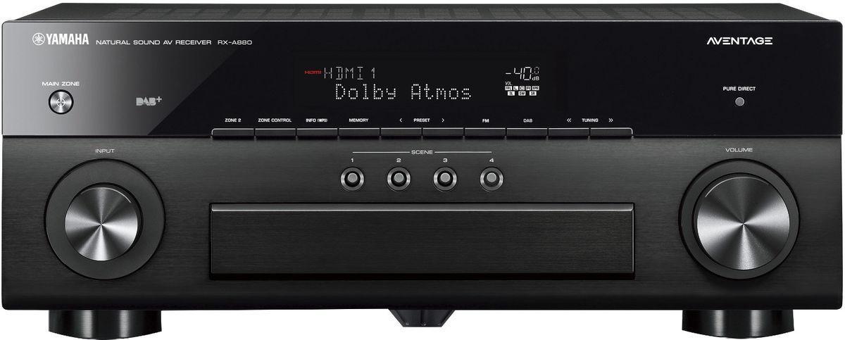 Yamaha - AVENTAGE RX-A880 Amplificateur Audio Vidéo 7.2