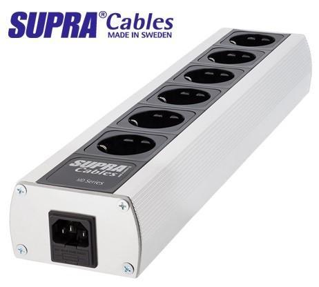 Supra cables - Barette secteur Lorad MD06 MK3 + Cable LoRad 2,5 IEC 1,5 mètres