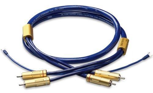 Ortofon -  6NX-TSW-1010 Câble de modulation RCA avec masse pour vinyle