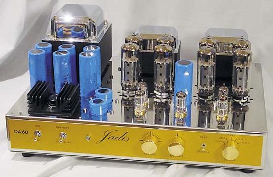 Amplificateur intégré stéréo Jadis - DA60 Occasion