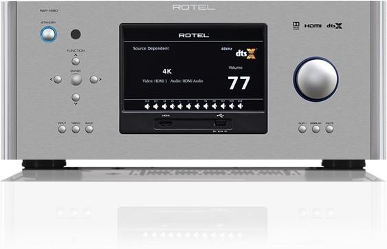 Rotel - RAP 1580 Amplificateur Audio Vidéo 7.1 4K Dolby Atmos