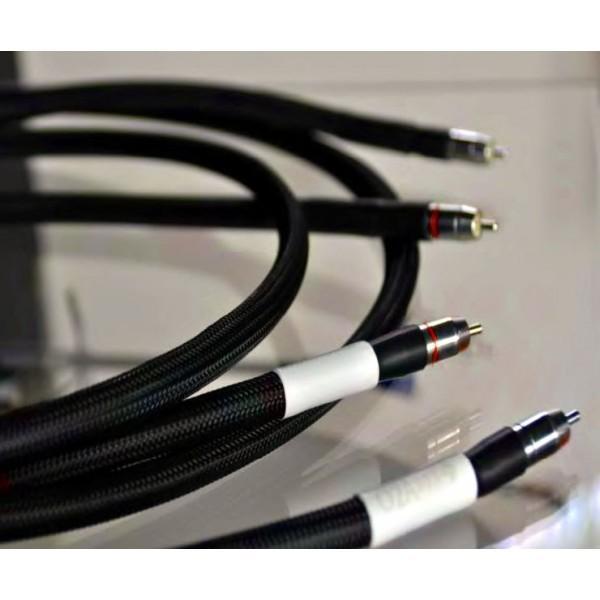 O2A - Quintessence Sublime RCA 2x1,5m Câble de modulation (modèle d'exposition)
