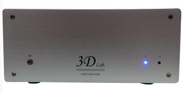 3D Lab - Nano Amplifier Amplificateur de puissance stéréo (Destockage)