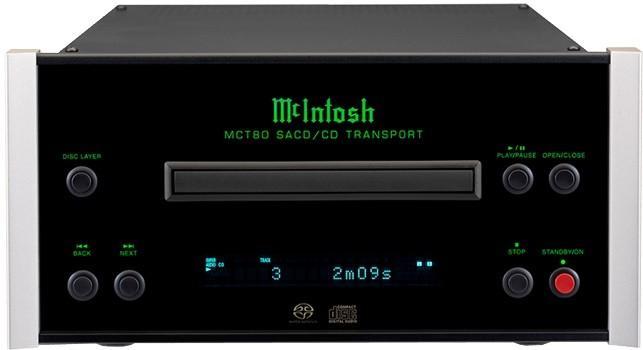 Lecteur CD/SACD Compact Mc Intosh - MCT 80