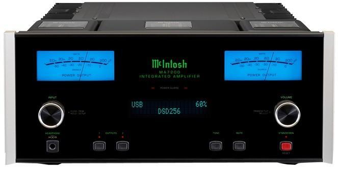 Amplificateur intégré stéréoMc Intosh - MA 7200