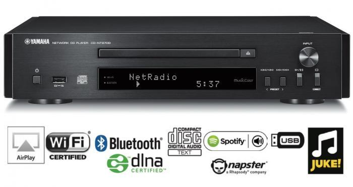 Yamaha - CD-NT670 D Lecteur CD / Streamer compact