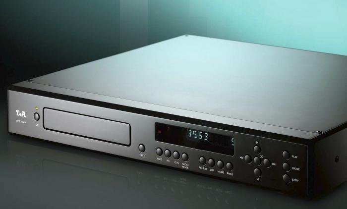 T+A - SACD 1250 R Lecteur CD et SACD