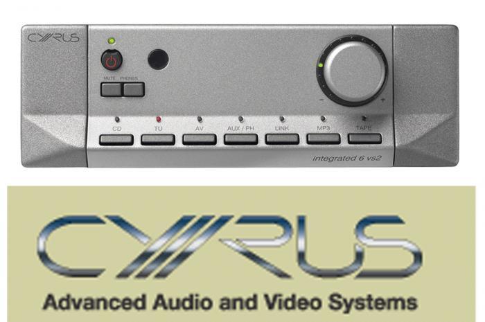 Cyrus - 6 vs 2 Amplificateur intégré stéréo