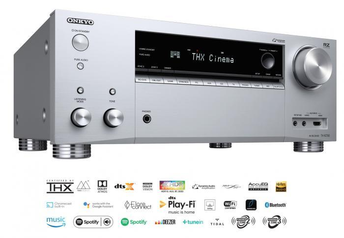 Onkyo - TX-RZ730 Amplificateur audio vidéo 11.2 4K Dolby Atmos
