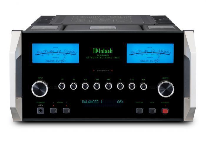 Amplificateur intégré stéréoMc Intosh - MA 9000