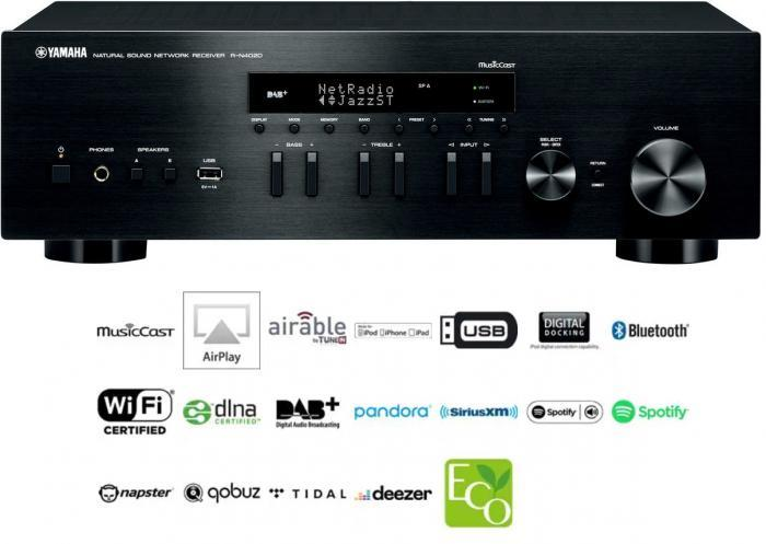 Yamaha - R-N402D Amplificateur tuner / streamer
