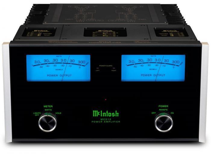 Amplificateur de puissance stéréo Mc Intosh - MC 312