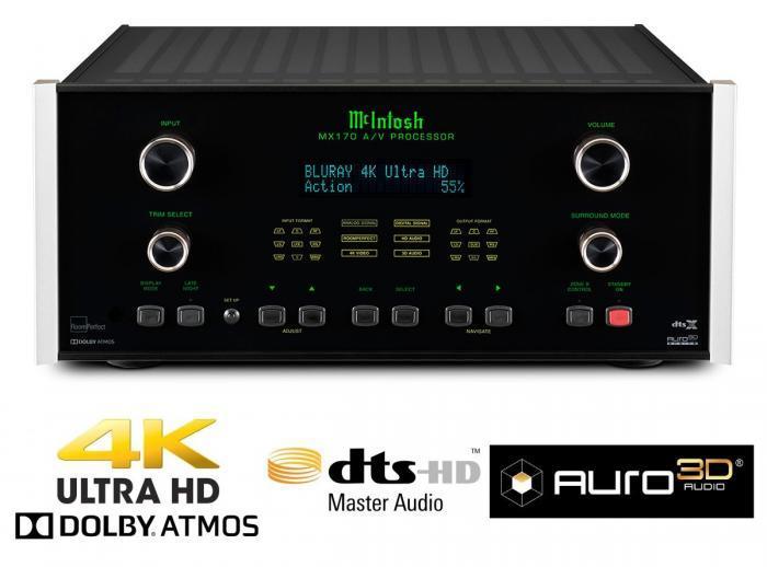Préamplificateur Audio vidéo Mc Intosh - MX 170