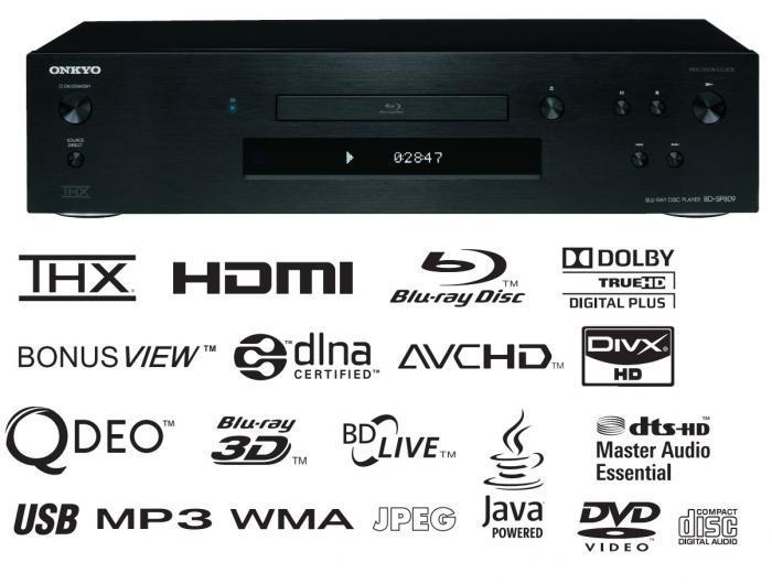 Onkyo - BD-SP 809 THX Lecteur Blu-Ray