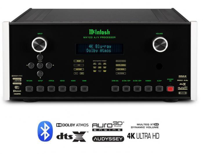 Préamplificateur Audio vidéo Mc Intosh - MX 123