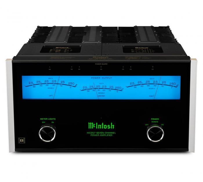 Amplificateur de puissance 7 canaux Mc Intosh - MC 257