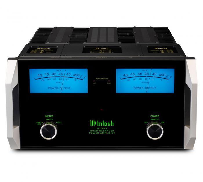 Amplificateur de puissance stéréo Mc Intosh - MC 462