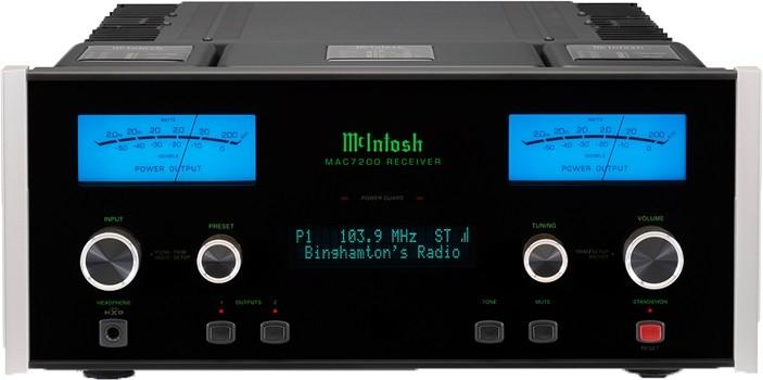 Amplificateur Tuner Mc Intosh - MAC 7200