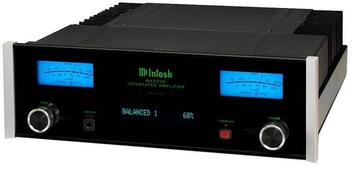 Amplificateur intégré stéréoMc Intosh - MA 5300