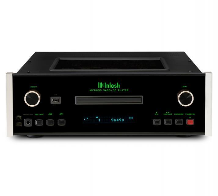 Lecteur CD/SACD Mc Intosh - MCD 600