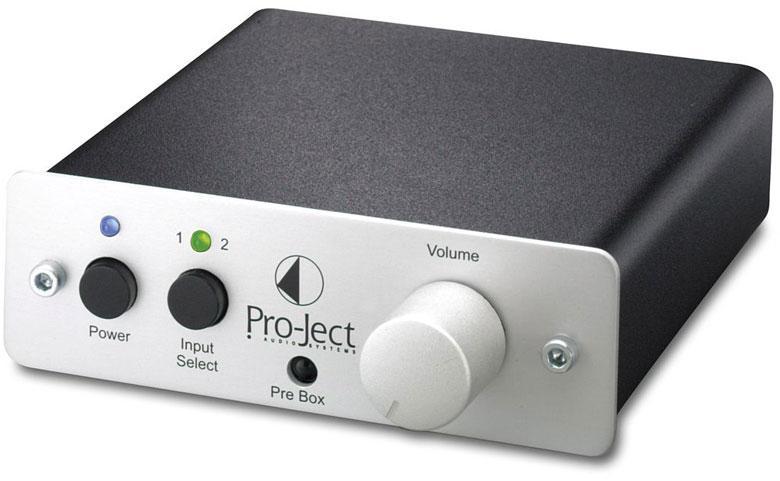 Project - Pre Box Préamplificateur