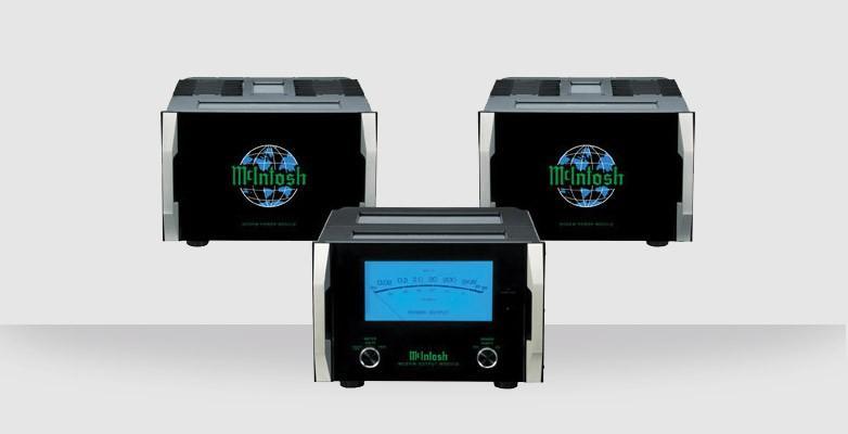 Amplificateur de puissance Bloc Mono triple châssis Mc Intosh - MC2KW