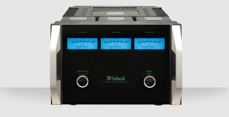 Amplificateur de puissance 3 canaux Mc Intosh - MC 303