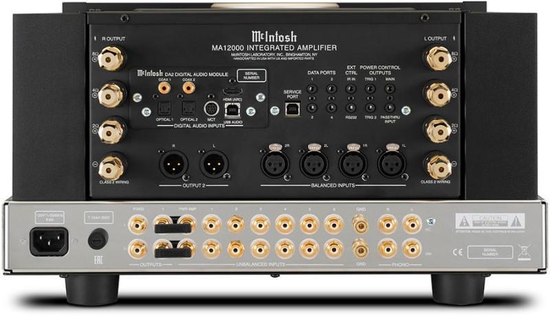 Amplificateur intégré stéréoMc Intosh - MA 12000