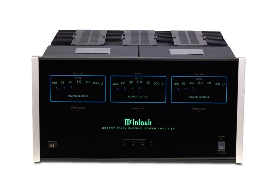 Amplificateur de puissance 7 canaux Mc Intosh - MC 8207