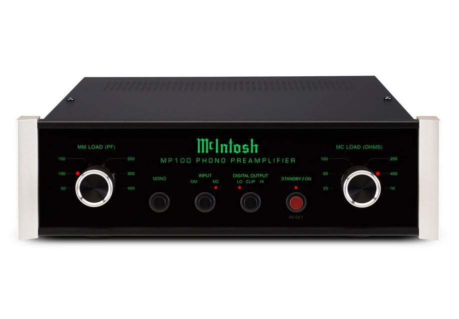 Préamplificateur phono (MM/MC) Mc Intosh - MP 100