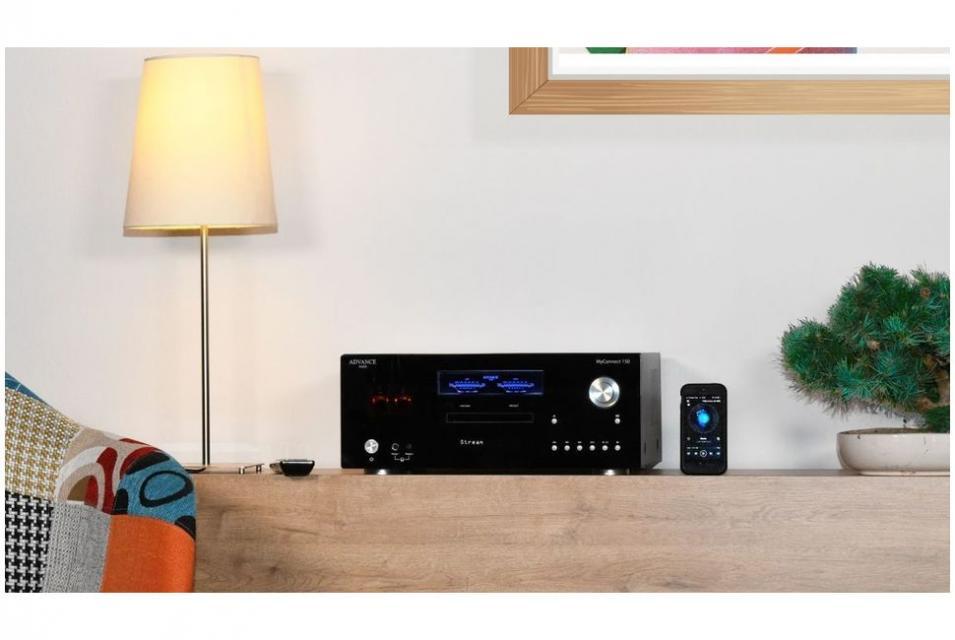 Advance Paris - MyConnect 150 Advance Acoustic ampli hybride tubes connecté