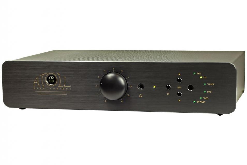 Amplificateur intégré stéréo Atoll - IN 100 se Noir
