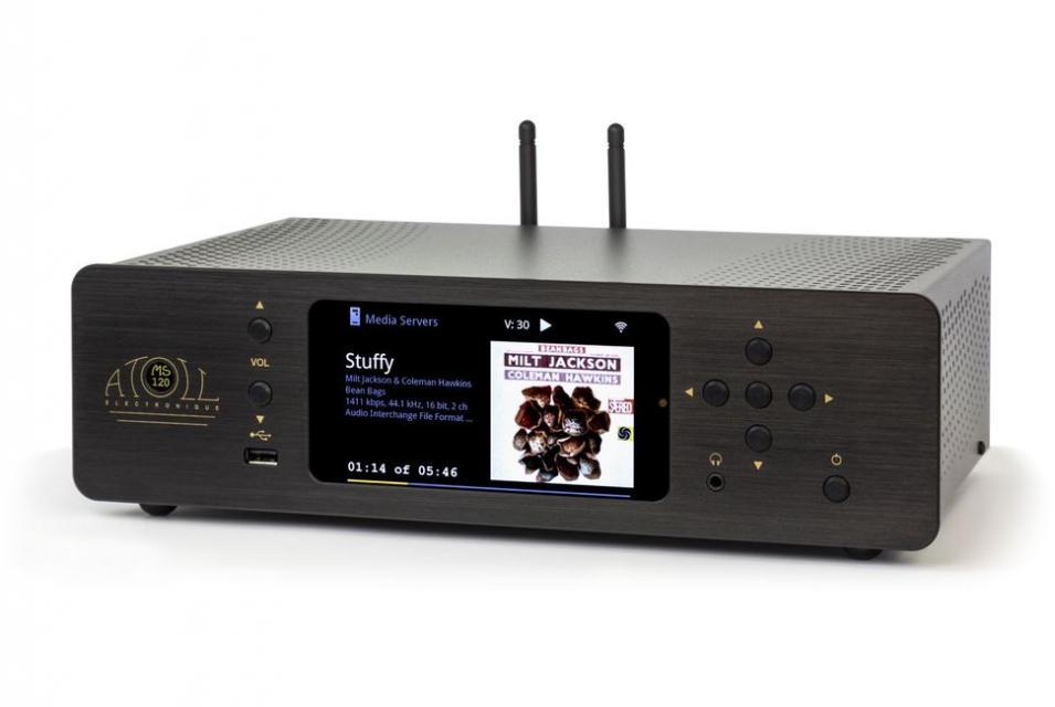 Lecteur réseau streamer Atoll - MS 120
