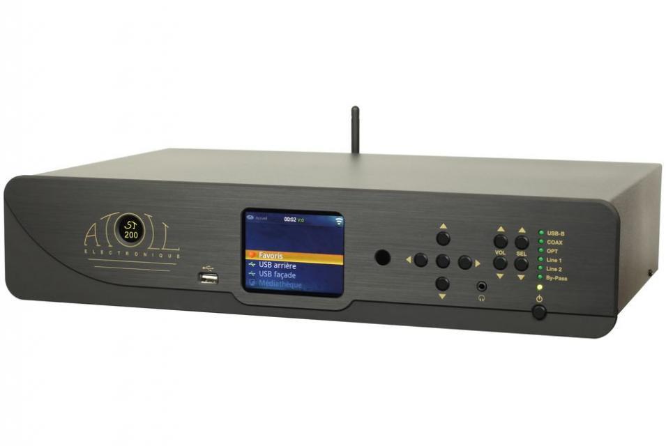 Lecteur réseau streamer Atoll - ST200 Signature