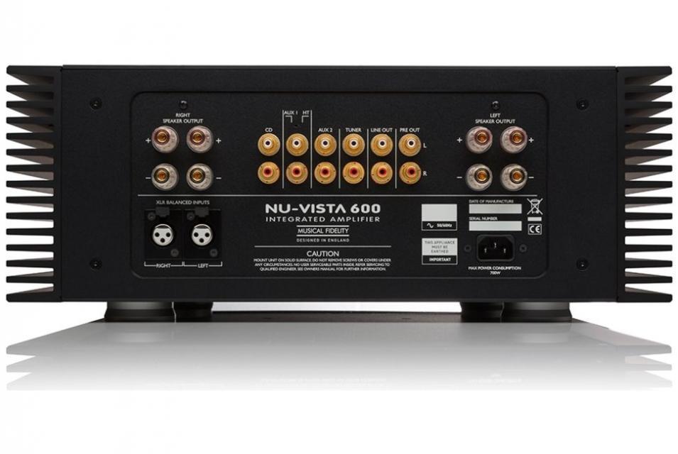 Musical Fidelity - NU-VISTA 600 Amplificateur intégré stéréo (Destockage)