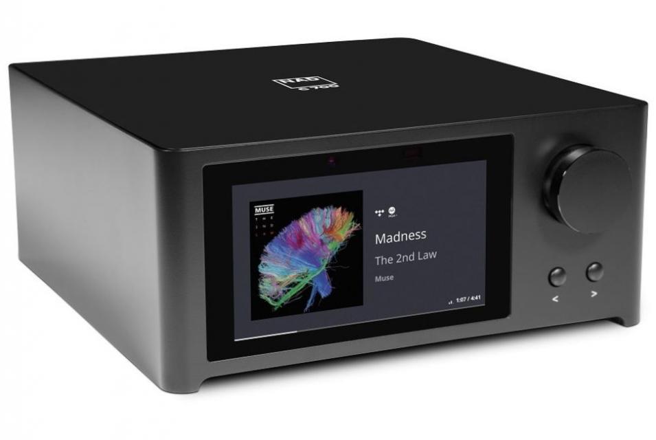 NAD - C 700 Amplificateur intégré stéréo connecté Blu-OS