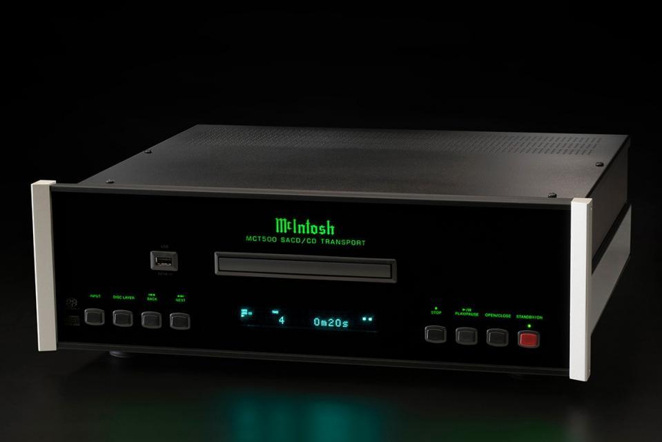 Lecteur CD/SACD Transport Mc Intosh -  MCT 500