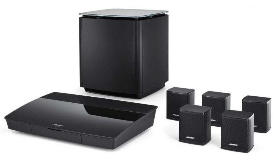 Bose -  Lifestyle 550 Système Home Cinéma 5.1 4K Multi-room