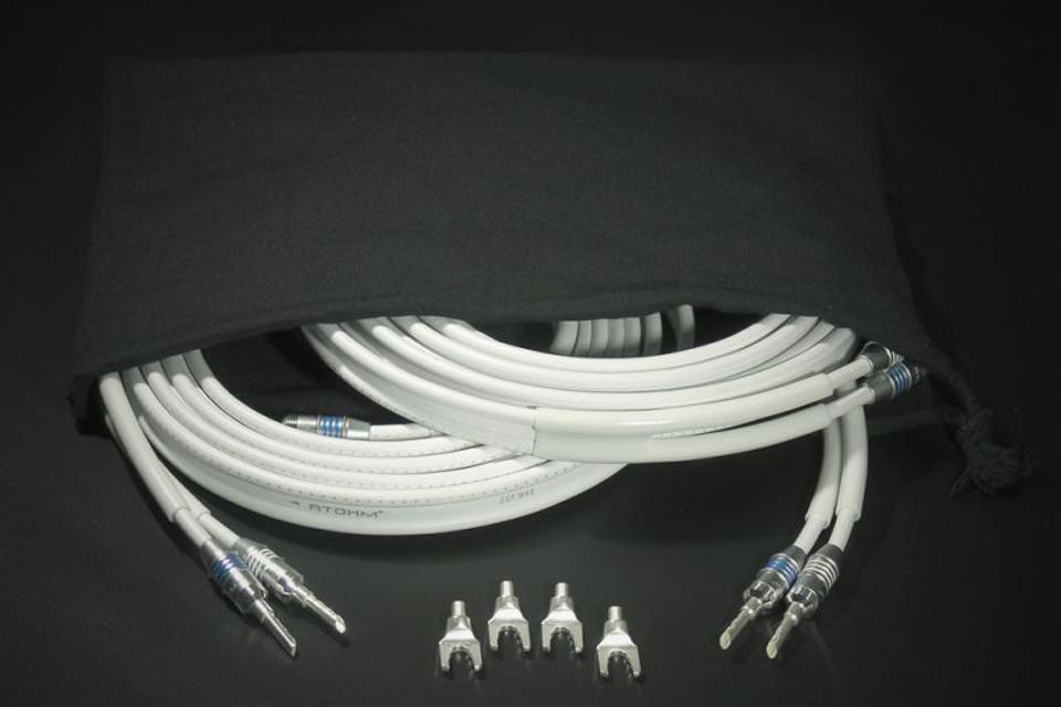 Atohm - ZEF MAX SET Cable HP  5,2 mm² prémonté 2x3M (BFA ou Fourche)