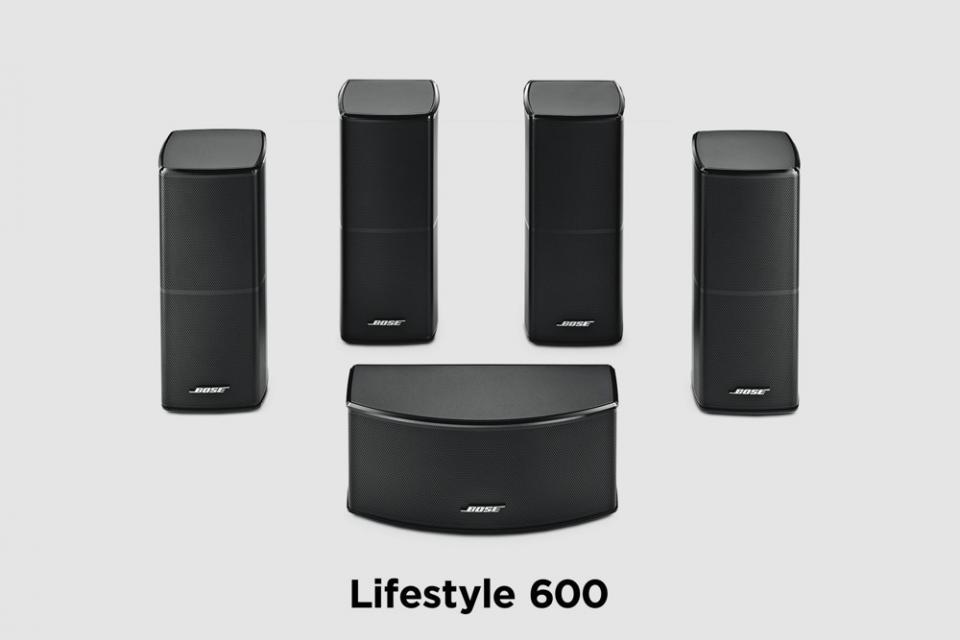 Bose -  Lifestyle 600 Système Home Cinéma 5.1 4K Multi-room