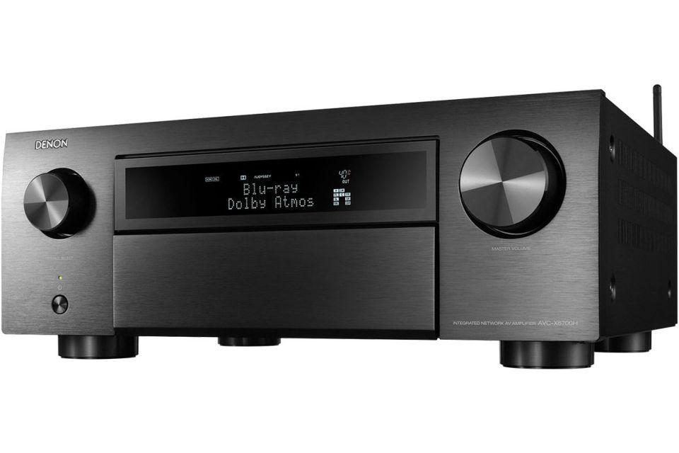 Denon - AVC-X6700H Amplificateur audio vidéo 11.2 4K Dolby Atmos