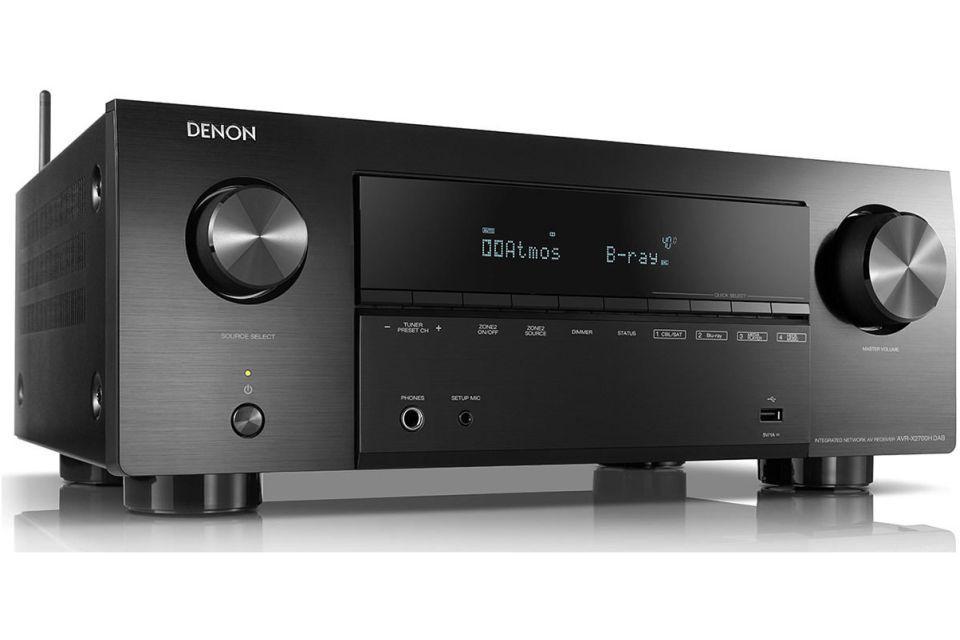 Denon - AVR-X2700H Amplificateur audio vidéo 7.1 4K Dolby Atmos