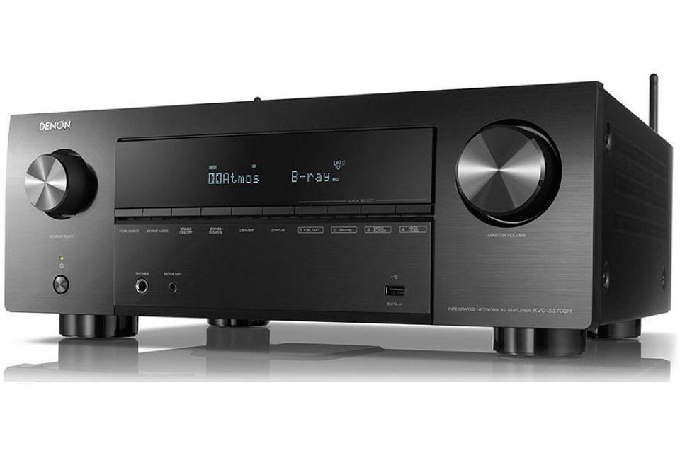 Denon - AVR-X4700H Amplificateur audio vidéo 11.2 4K Dolby Atmos