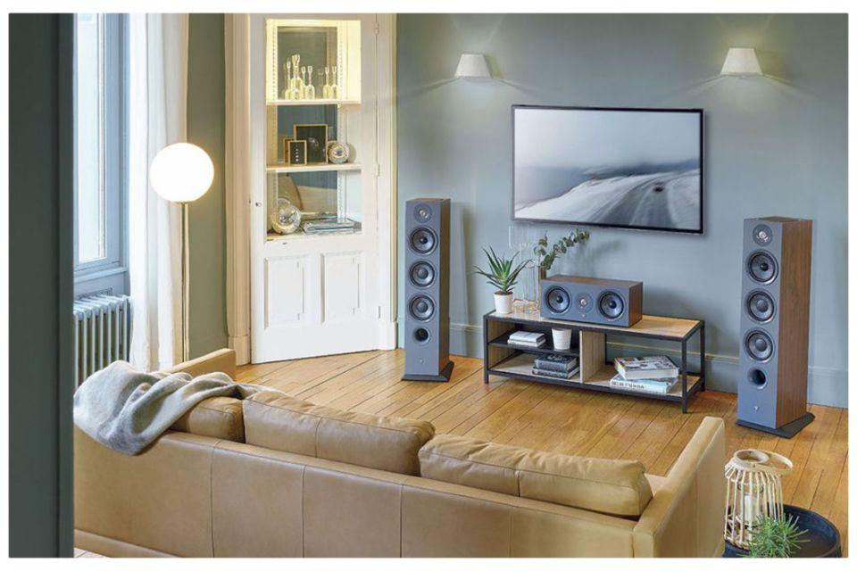 Focal - Chora 826D Enceintes colonne 3 voies bass-reflex Dolby Atmos