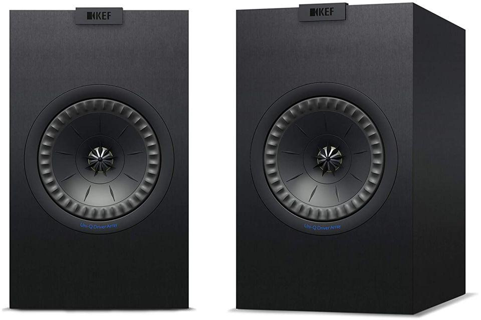 Kef - Q350 Enceintes bibliothèque 2 voies Bass-reflex UniQ