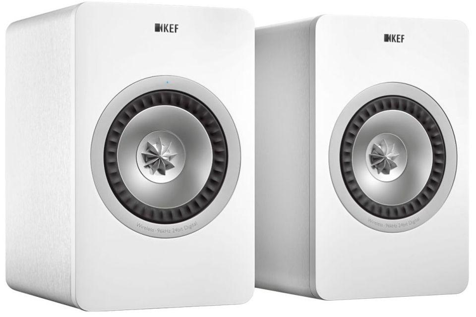 Kef - X300 A WIRELESS Enceintes sans fil active 2 voies bass-reflex (Destockage)