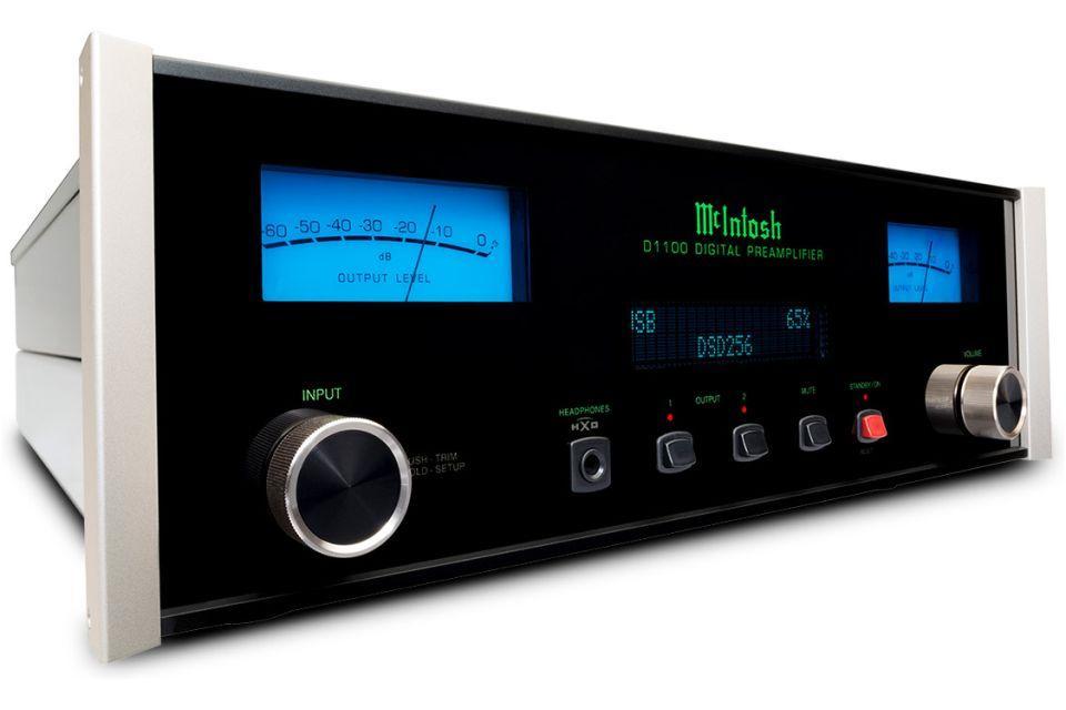 Mc Intosh - D 1100 Convertisseur numérique analogique / préamplificateur