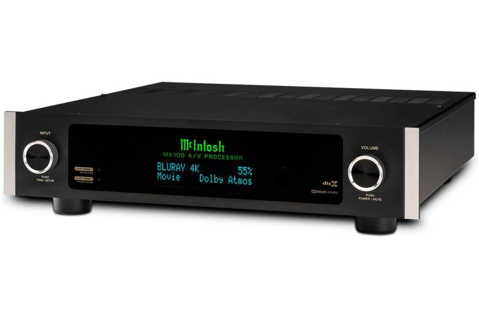 Mc Intosh - MX 100 Préamplificateur Audio vidéo 11.2 4K Dolby Atmos